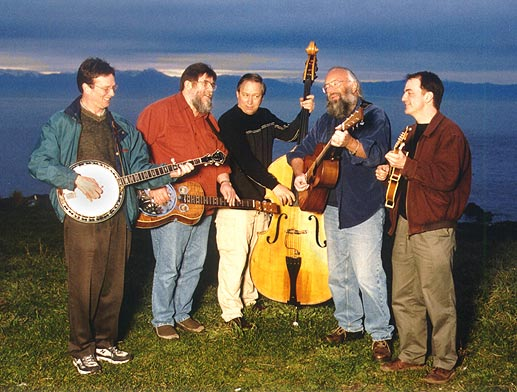 The Clover Point Drifters, a bluegrass band from Victoria BC, Canada.
